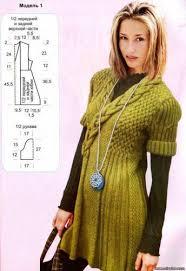 Вязаное платье - <b>туника</b>. Обсуждение на LiveInternet ...