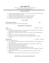 sous chef resume sous chef  tomorrowworld cohead chef resume executive chef resume examples sous