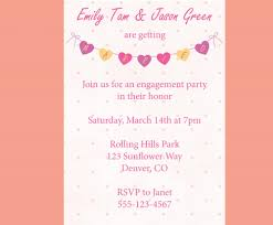 simple engagement celebration party invitation template and floral sample engagement celebration engagement invitations sweet simple engagement invitation card plus colorful love shaped and pink lettering