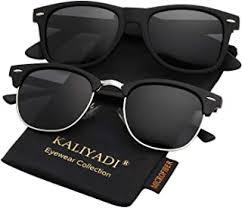 Semi-Rimless - Sunglasses / Eyewear & Accessories ... - Amazon.ca