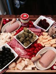 German meat and relish tray   Appetizers in 2019   German meat ...