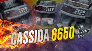 СASSIDA <b>6650</b> UV, UV/MG, I/IR: ОБЗОР СЧЕТЧИКОВ БАНКНОТ С ...