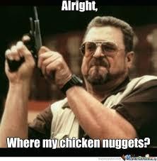 Fat Guy With A Gun by nutbusta - Meme Center via Relatably.com