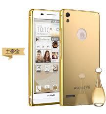 <b>Fashion</b> Huawei P6 Mirror <b>Phone</b> Case Metal Frame & Mirror <b>Acrylic</b> ...