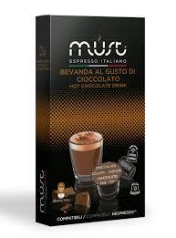 <b>MUST Cioccolato</b> какао капсульный, <b>10 шт</b> 8056370761104. 12 ...