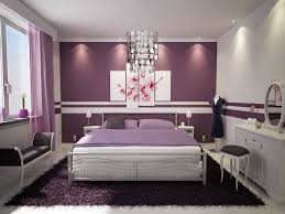 Silver And Purple Bedroom Grey And Purple Bedroom Feminine Silver Chandelier Plum Feature