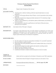 substitute teacher job description for resume com substitute teacher job description for resume is one of the best idea for you to make a good resume 17
