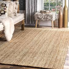 Rugs Retro Handmade <b>Area Rug Braided Design</b> Jute Round Living ...