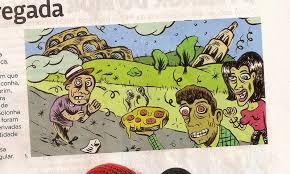 Resultado de imagem para esquisito ilustraçao