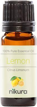 100% <b>Pure Lemon Essential Oil</b> 10ml, 50ml, 100ml (10ml): Amazon ...