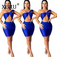 <b>XURU 2019</b> Europe and the United States <b>new</b> women's dress sexy ...