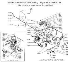 flathead electrical wiring diagrams wiring diagram for 1948 50 truck
