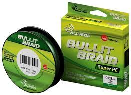 Плетеный шнур <b>ALLVEGA BULLIT</b> BRAID — купить по выгодной ...