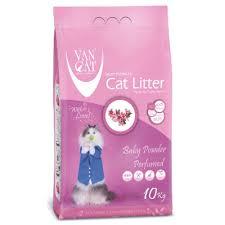 <b>Van Cat</b> Clumping Litter (<b>Baby Powder</b> Scented) – petshopmalta.com
