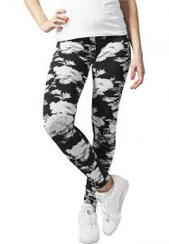 "<b>Леггинсы</b> ""Ladies Flower Leggings"" <b>Urban Classics</b>. Размеры - S ..."