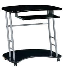 unique desks design for home office furnishings laptop desk by osp design kool kolor jet black black home office laptop desk