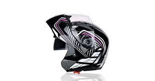MDSQ <b>Motorcycle</b> helmet open face helmet double lens men and ...