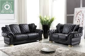 high quality living room furniture european modern leather sofa buy living room