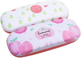 Beautyflier Pack of 2 Fruit <b>Print Hard Shell</b> Frame Glasses <b>Case</b> ...