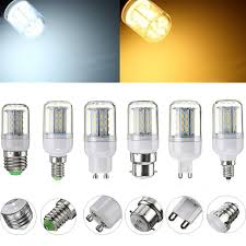 E27 E14 E12 G9 <b>GU10</b> B22 4014 SMD 4W <b>LED Corn Light Bulb</b> ...