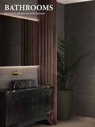 Bathrooms interior design season trends - Home & Living by COVET ...
