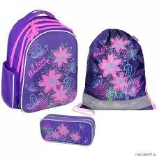 <b>Рюкзак школьный Magtaller</b> Stoody II Flowers с наполнением ...