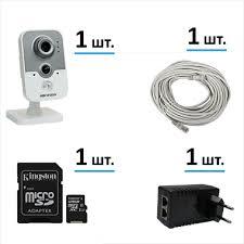 Комплект для дома на 1 PoE IP-камеру с возможностью ...