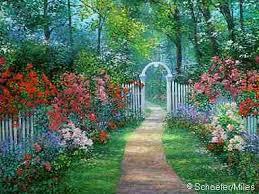 Resultado de imagem para belos jardins floridos