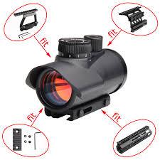<b>Tactical</b> Red Dot Sight Scope <b>Holographic 1</b> x 30mm Sight Scope ...