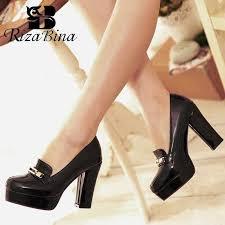 <b>RizaBina women</b> wedge leopard high heel shoes footwear sexy ...