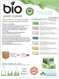 bio green cleaning crystals healthy cleaning for the household more info