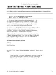resume template microsoft getessay biz re office resume templates in resume template