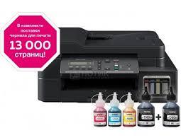 МФУ струйное цветное Brother DCP-T710W Ink Benefit ... - Нотик