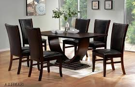 black wood dining room table for well black wood dining room set inspiring well fresh black wood dining room