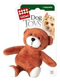 <b>Игрушка</b> для собак <b>GiGwi Dog</b> Toys Мишка (75022А) — купить по ...