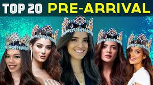 <b>MISS</b> WORLD <b>2018</b>: TOP 20 PRE-<b>ARRIVAL</b> CONTESTANTS ...