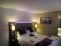premier inn watford north hotel mood lighting above the bed above bed lighting