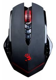 Купить <b>Мышь A4TECH</b> Bloody R80, <b>беспроводная</b>, USB, черный в ...