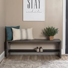 <b>Solid</b> Wood - Entryway <b>Benches</b> & Trunks - Entryway Furniture - The ...