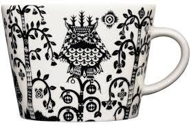 "<b>Чашка кофейная</b> Iittala ""<b>Taika</b>"", цвет: черный, 200 мл"
