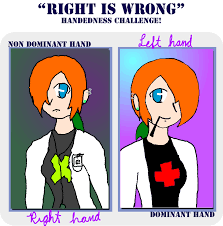I'm left handed meme by ZemnDragonheart on DeviantArt via Relatably.com