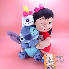 Peluche <b>Trio</b> Lilo <b>Stitch</b> Et Souillon <b>Disney</b> Japan - Cutie Galaxie