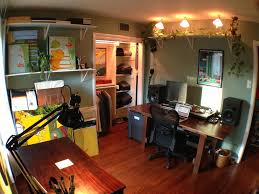 home office music studio and art studio by platetone af home office