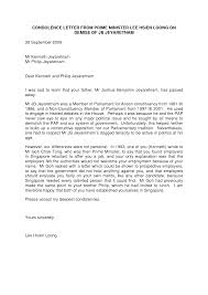 formal letter of condolence shopgrat great formal letter of condolence example template