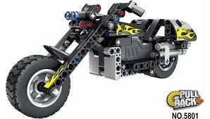 <b>конструктор qihui technics мотоцикл</b> инерция, 183 детали ...
