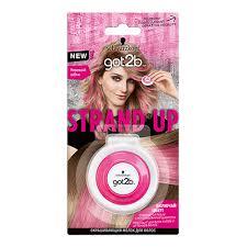 Окрашивающий <b>мелок для волос</b> `<b>GOT2B</b>` STRAND UP Розовый ...