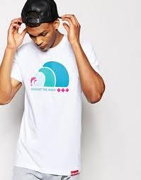 <b>Футболка Pink Dolphin</b> Waves | ASOS