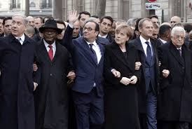 Image result for paris demonstration january 13