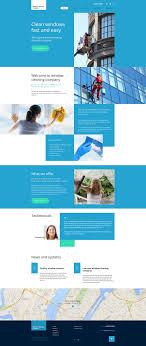 cleaning company web template window cleaning website template