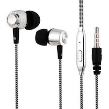 13 Subwoofer <b>In-ear Braided Wire</b> Earphone with Mic Sale, Price ...